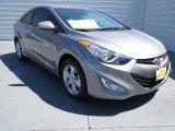 2013 Titanium Gray Metallic Hyundai Elantra Coupe GS #70352574