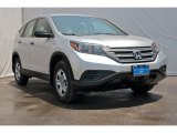 2012 Alabaster Silver Metallic Honda CR-V LX #70352547