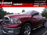 2011 Deep Cherry Red Crystal Pearl Dodge Ram 1500 Big Horn Crew Cab #70352524