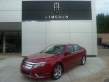 2010 Sangria Red Metallic Ford Fusion Sport #70406942