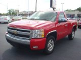 2008 Victory Red Chevrolet Silverado 1500 LT Regular Cab #70407585
