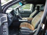 2013 Ford Explorer Limited EcoBoost Pecan/Charcoal Black Interior