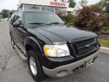 2001 Black Ford Explorer Sport 4x4 #70406846
