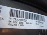 2008 300 Color Code for Dark Titanium Metallic - Color Code: PDT