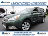 2012 Cypress Green Pearl Subaru Outback 2.5i Limited #70407203