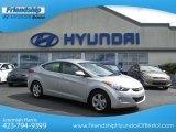 2013 Shimmering Air Silver Hyundai Elantra GLS #70406813