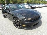2011 Ebony Black Ford Mustang V6 Premium Coupe #70407163