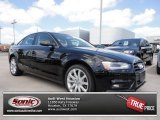 2013 Brilliant Black Audi A4 2.0T Sedan #70407125