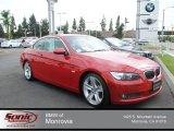 2007 Crimson Red BMW 3 Series 335i Convertible #70407108