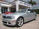 2006 Titanium Silver Metallic BMW 3 Series 325i Coupe #70406716