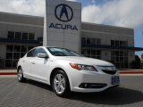 2013 Bellanova White Pearl Acura ILX 1.5L Hybrid Technology #70406702