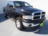 2002 Black Dodge Ram 1500 ST Quad Cab 4x4 #70407056