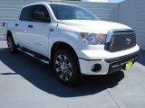 2012 Super White Toyota Tundra Texas Edition CrewMax 4x4 #70407052