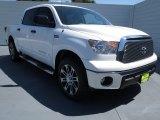 2012 Super White Toyota Tundra Texas Edition CrewMax #70407051