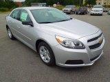 2013 Silver Ice Metallic Chevrolet Malibu LS #70407398