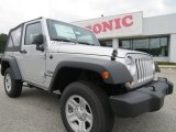 2012 Bright Silver Metallic Jeep Wrangler Sport 4x4 #70407031