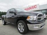 2012 Black Dodge Ram 1500 Big Horn Quad Cab #70407026