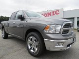 2012 Mineral Gray Metallic Dodge Ram 1500 Big Horn Quad Cab #70407025