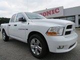 2012 Bright White Dodge Ram 1500 Express Quad Cab #70407017
