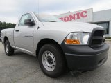 2012 Bright Silver Metallic Dodge Ram 1500 ST Regular Cab #70407016