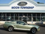 2006 Legend Lime Metallic Ford Mustang V6 Deluxe Coupe #70407004