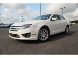 2011 White Suede Ford Fusion SEL #70407332