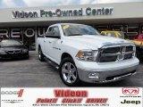 2011 Bright White Dodge Ram 1500 Big Horn Quad Cab 4x4 #70474935