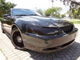 2000 Black Ford Mustang V6 Coupe #70474928