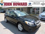2012 Obsidian Black Pearl Subaru Impreza 2.0i Premium 5 Door #70474586