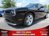 2013 Pitch Black Dodge Challenger SXT #70474222
