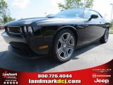 2013 Pitch Black Dodge Challenger R/T Classic #70474214