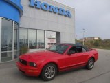 2005 Redfire Metallic Ford Mustang V6 Deluxe Convertible #70474178