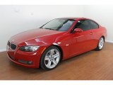 2009 Crimson Red BMW 3 Series 335i Coupe #70474165