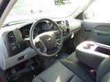 2013 Chevrolet Silverado 1500 Work Truck Extended Cab 4x4 Dark Titanium Interior