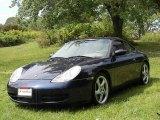 Ocean Blue Metallic Porsche 911 in 1999