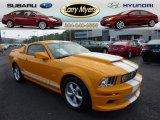 2007 Grabber Orange Ford Mustang V6 Premium Coupe #70474849