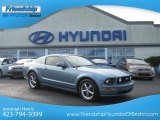 2005 Windveil Blue Metallic Ford Mustang GT Premium Coupe #70474133