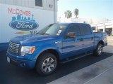 2012 Blue Flame Metallic Ford F150 XLT SuperCrew #70474119