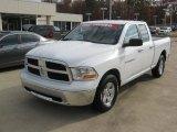 2011 Bright White Dodge Ram 1500 SLT Quad Cab 4x4 #70474490