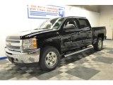 2013 Black Chevrolet Silverado 1500 LT Crew Cab 4x4 #70474780