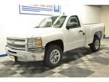 2013 Summit White Chevrolet Silverado 1500 LT Regular Cab #70474779