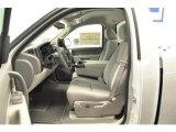 2013 Chevrolet Silverado 1500 LT Regular Cab Light Titanium/Dark Titanium Interior