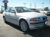 2001 Titanium Silver Metallic BMW 3 Series 330xi Sedan #70474073