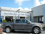 2011 Sterling Grey Metallic Ford F150 Lariat SuperCrew #70474041