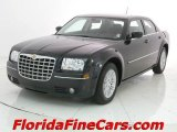 2008 Brilliant Black Crystal Pearl Chrysler 300 Touring #7016884