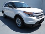2013 White Platinum Tri-Coat Ford Explorer XLT #70474349
