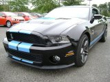 2011 Ebony Black Ford Mustang Shelby GT500 Coupe #70473989