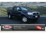 2012 Nautical Blue Metallic Toyota Tacoma V6 SR5 Double Cab 4x4 #70473959