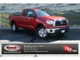 2012 Barcelona Red Metallic Toyota Tundra Double Cab 4x4 #70473958