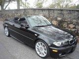 2006 Jet Black BMW 3 Series 330i Convertible #7016951